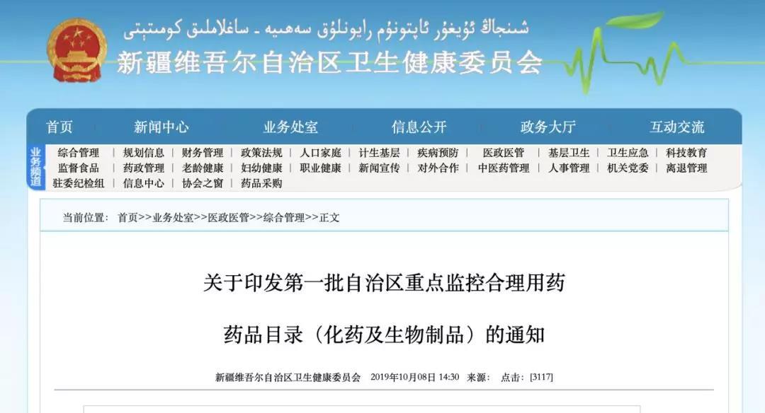 浙江、新疆共48个大品种,被重点监控(附名单)